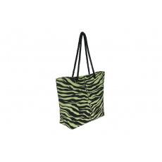 Plážová taška 50x36 cm Safari pistáciová