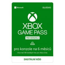 ESD XBOX - Game Pass Console - předplatné na 6 měsíců (EuroZone)