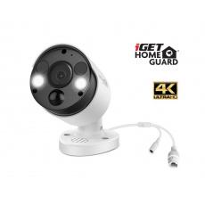 iGET HGNVK936CAM - UltraHD 4K PoE IP kamera, SMART detekce, IP66, zvuk, noční přísvit 40m, ONVIF 2.6