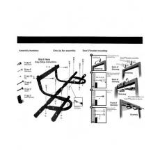 Liveup 3153A Multifunkční hrazda na cvič