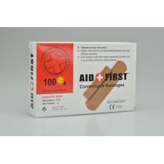 Sada 100ks náplastí AID FIRST