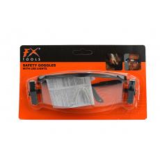 Ochranné pracovní brýle s LED lampičkama FX (15cm)