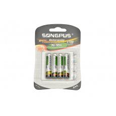 Nabíjecí baterie SONGPUS 4ks - AAA (SP-1815) 2700mAh