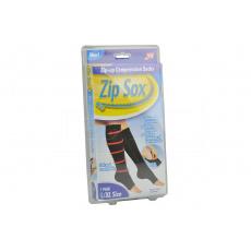 1 pár kompresních zipových ponožek