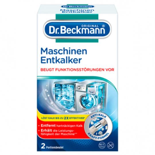 Dr. Beckmann silný odvápňovač pro pračky a myčky nádobí, 2 dávky