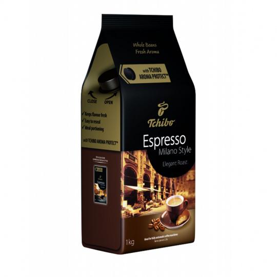 Tchibo Espresso Milano style zrnková káva 1kg