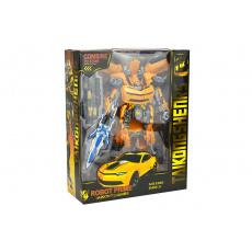 Transformační robot TP20-0133 - Žlutý