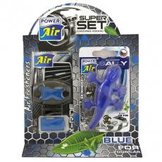 Power Air Super Set, dárkové balení vůní do Auta, vůně Sport