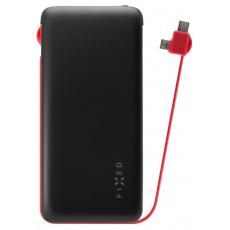 FIXED Zen Powerbank 10.000mAh microUSB/USB-C, BLK