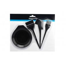 Souprava na barvení vlasů ELEGANZA - Set 4ks (21cm)