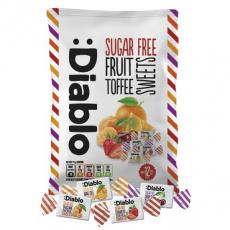 Diablo Fruit Toffees bonbony bez cukru 75g