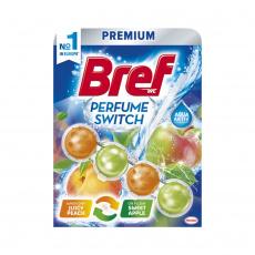 Bref Premium závěs do WC, vůně Peach/Apple 50g