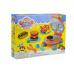 Dětský 3D modelovací set na hamburgery včetně plastelíny GAZELO 19ks