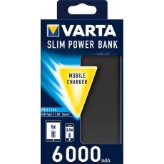 VARTA Power Bank 6000mAh Dual Type C SLIM