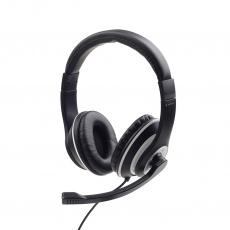 Gembird Stereo Headset MHS-03-BKWT černá