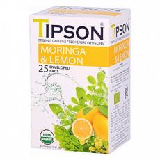Tipson BIO Moringa a citron čaj 25x1,5g