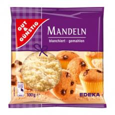 GG Mandle mleté, blanšírované vhodné na pečení 100g