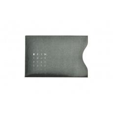 RFID ochranný obal na kartu - Černý