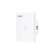 Tellur WiFi Smart Spínač, 1 port, 1800 W, 10 A., bílý