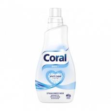 Coral prací gel White plus 22PDL 1,1l