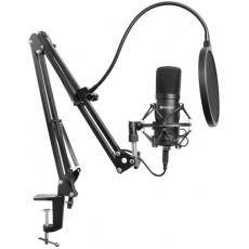 Sandberg Streamer USB mikrofon Kit černý