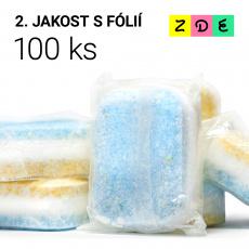 Tablety do myčky PREMIUM s rozpustnou fólií 100 ks 2. jakost