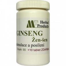 Herbal produkt Ginseng 90+10tbl