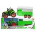 Farm park - Traktor s vlekem (34cm)