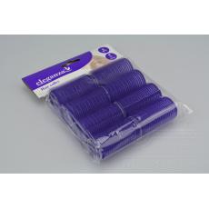 Vlasové natáčky ELEGANZA 8ks - Fialové (3x6cm)