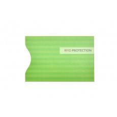 RFID ochranný obal na kartu - Zelený