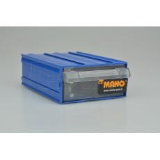 Plastový organizér do dílny MANO MK-10 (12x8.5x4cm) - Modrý