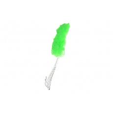 Masážní žinka s rukojetí, zelená
