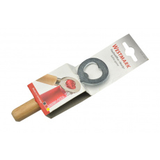 Otvírák na lahve s rukojetí z bukového dřeva (14cm)