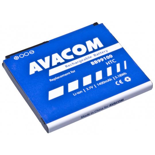 Baterie AVACOM PDHT-DESI-S1450A do mobilu HTC Desire, Bravo Li-Ion 3,7V 1400mAh (náhrada BB99100)
