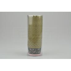 Cukrářské svatební papírové košíčky do 220°C / 25ks (6x4cm) - Lístky