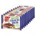 GG Oplatky Crunchy Break s lískooříškovým a mléčným krémem 10x25g