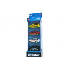 Závodní autíčka 1:64 SET 4 ks