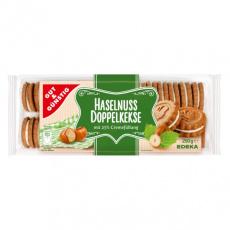 GG Lískooříškové sušenky s vanilkovou náplní 250g