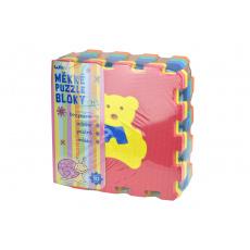 Měkké puzzle bloky (32cm) se zvířátky - Set 10ks