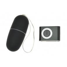 Vibrační vajíčko - Černé