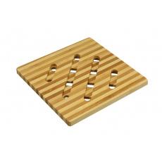 Bambusová podložka pod hrnce a pánve - Čtverec (12,5cm)