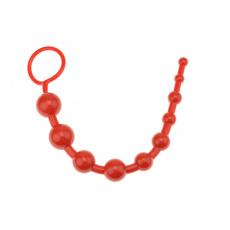 Anální kuličky (25cm) - Červené