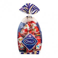 Only Čokoládové ozdoby na vánoční stromeček Santa 100g