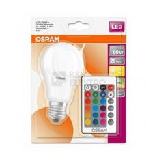 OSRAM LED STAR+ CL A RGBW Fros. 9W 827 E