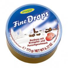 Fine Drops Pečené jablko a Punč Bonbony 175g