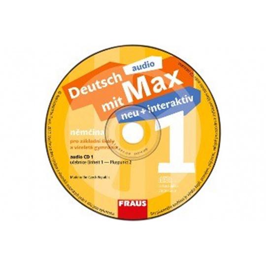 CD - Deutsch mit Max neu + interaktiv 1 /2 ks/