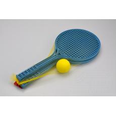 Set na plážový tenis - Modrý (53cm)