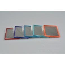 Set 5ks barevných zrcátek - (7,5x5,5cm)