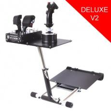Wheel Stand Pro DELUXE V2, stojan na joystick pro Thrustmaster HOTAS WARTHOG, Saitek X55/Saitek X52