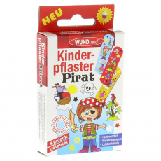 WUNDmed dětská náplast pirát 10ks